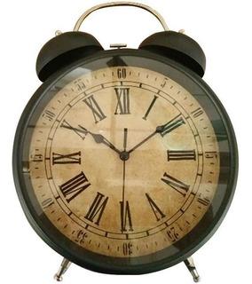 Reloj Vintage Para Mesa Y Pared Retro Despertador Escritorio