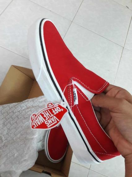 Vans Classic Slip-on Rojos
