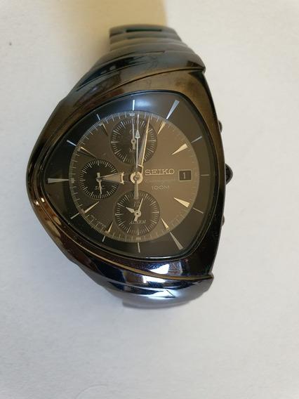 Raro Ùnico Seiko 7t62ogho Chronograph Wr100m Quartz Japan