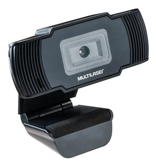 Webcam Office Hd 720p Usb 30fps Microfone Integrado Preto