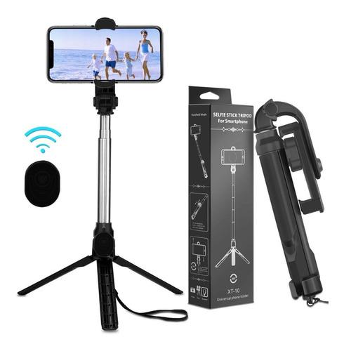 Bastón De Selfie Y Video Con Bluetooth