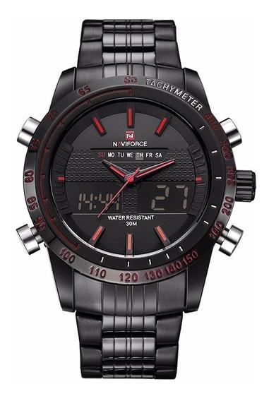 Reloj Deportivo Naviforce Análogo Digital Original