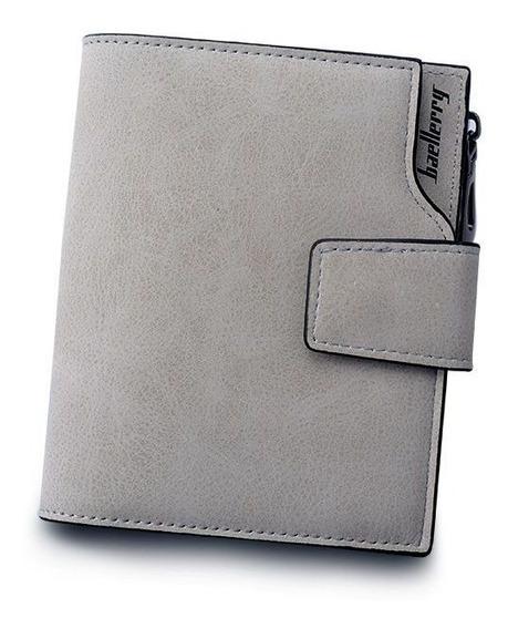 Carteira Feminina Couro Fashion P/ Cartão Dinheiro Documento
