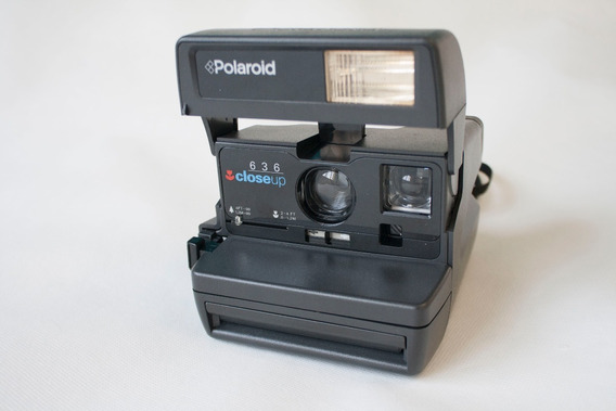 Polaroid Closeup 636 De Família Funcionando