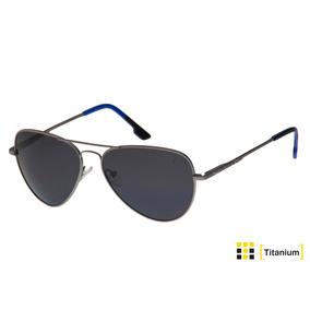 Óculos De Sol Masculino Feminino Aviador Polarizado