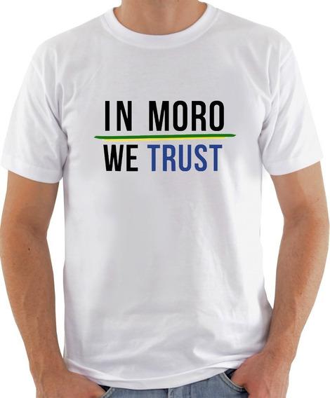 Camiseta Camisa In Moro We Trust