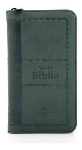 Biblia Reina Valera 1960 Concordancia Verde Canto Plateado
