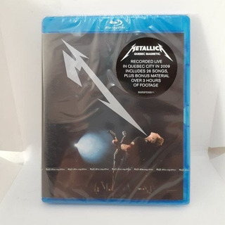 Metallica Quebec Magnetic Blu-ray [nuevo]
