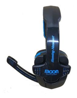 Auriculares Para Computadora Microfono Moon Ma2760 Fervanero
