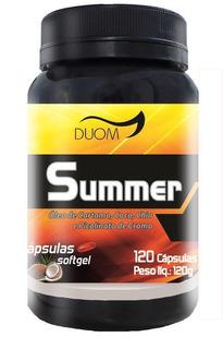 Summer (oleo De Cartamo,chia,coco E Cromo)1000mg-120cap Duom