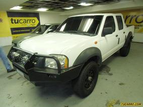 Nissan Frontier Dx Dob. Cab. 4x4 - Sincronico