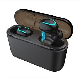 Fone De Ouvido Bluetooth Hbq-q32 Tws 100% Original - Preto