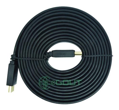 Imagen 1 de 1 de Cable Hdmi 1080p 5m Full Hd 5 Metros V 1.4 3d