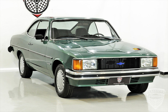 Gm Opala Comodoro Coupe 1984 84 - 4 Cilindros - Verde - Cupe