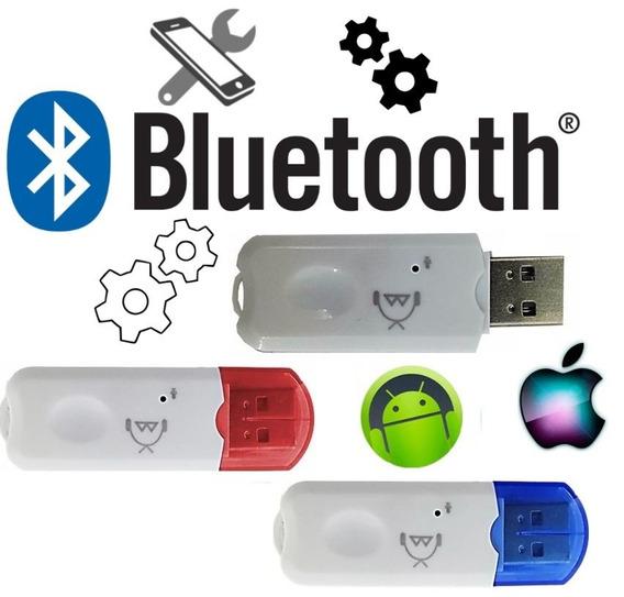 Promoção 2 Adaptador Bluetooth Receptor De Música Usb Carro