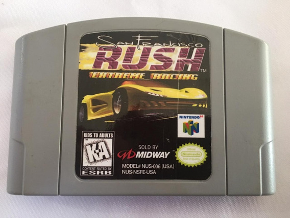 San Francisco Rush Extreme Racing Nintendo 64