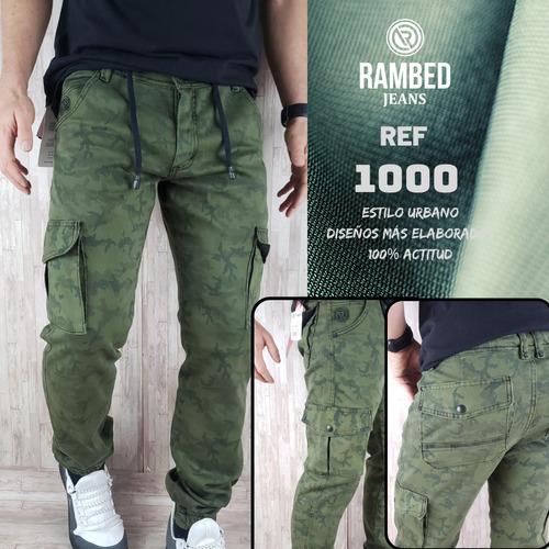 Pantalon Camuflado Hombre Tela Dril Confort Rambedjeans Mercado Libre