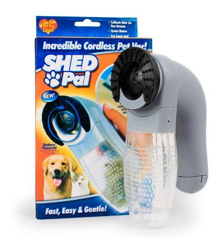 Aspirador Y Removedor De Pelo Para Mascotas Manual Shed Pal