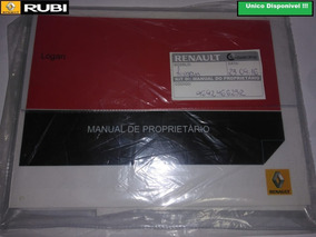 Manual Renault Logan Proprietario Cod:969246625r