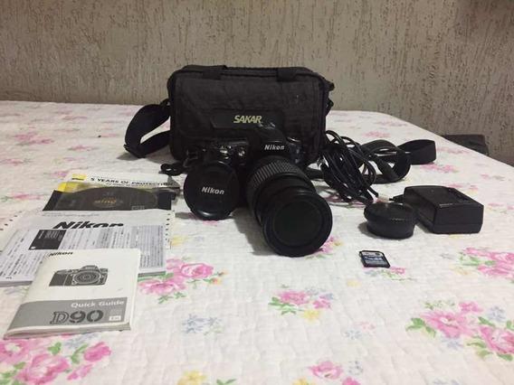 Câmera Nikon Modelo D90