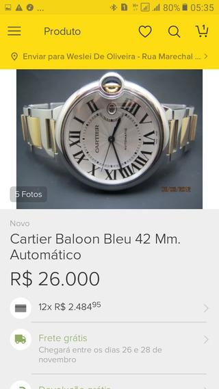 Relógio Importado Cartie Original