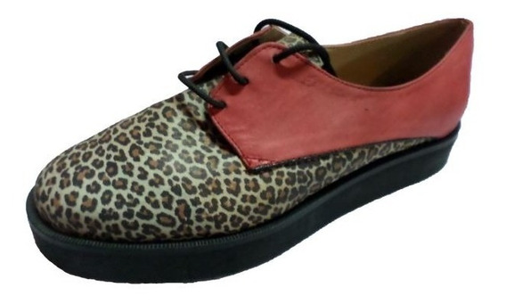 Zapato Franck Crudo Rojo Y Negro | Utzzia (11250)