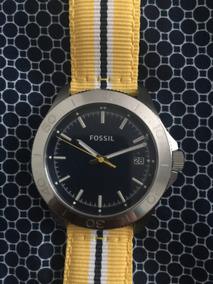 Relógio Fossil Am4477 Inox A Prova D