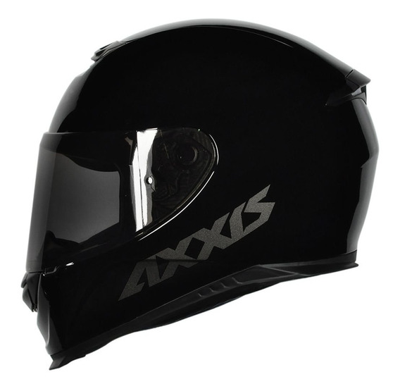 Capacete Axxis Eagle Solid Monocolor Gloss Black/grey