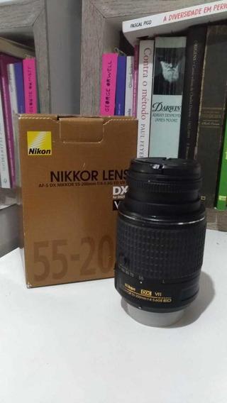 Lente Nikon 55-200mm