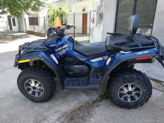 Cuatriciclo Can Am Outlander Max Ltd 800 Impecable