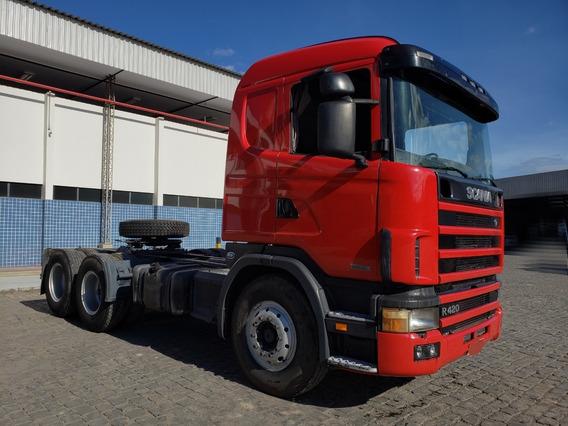 Scania R420 6x2 Ano 2005/2006 Novíssima = Volvo Mb 440 380