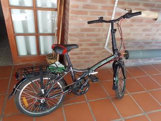 Bicicleta Plegable Retro Aurora. 7 Velocidades. Aluminio