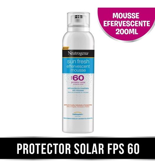 Neutrogena Sun Fresh Mousse Efervecente Fps60 X 200ml