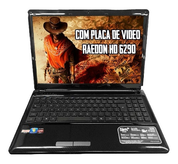 Notebook Positivo Sim+ 2000 Amd C-60 8gb Hd 320gb Mostruário
