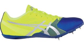 Tenis Spikes De Atletismo Velocidad Asics Hombre 25 Al 29.5