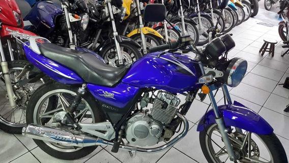 Suzuki Yes 125 2010 Linda 12 X $ 453 Ent. $ 500 Rainha Motos