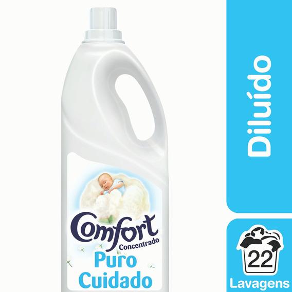Amaciante Diluído Puro Cuidado Comfort 2l