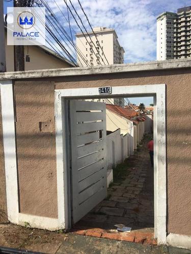 Casa Com 2 Dormitórios Para Alugar, 50 M² Por R$ 800,00/mês - Alto - Piracicaba/sp - Ca0795