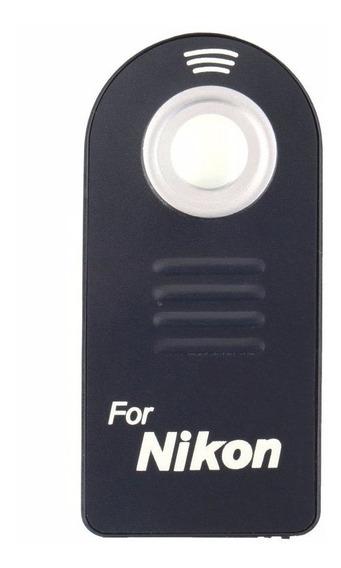 Controle Remoto Ml-l3 Disparador P/ Nikon D7000 D5000 D3000