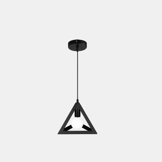 Lustre Pendente 3d Moderno Clean Luminária Bivolt