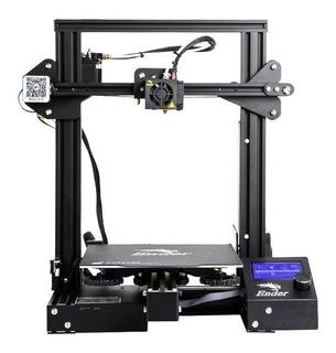 Impresora Creality 3D Ender-3 Pro color negro 100V - 120V/200V - 240V con tecnología de impresión FDM