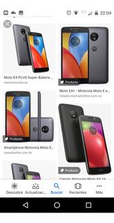 Motorola E4 Plus Buen Estado