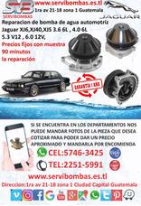 Reparación De Bombas De Agua Jaguar Xj6,xj40,xjs 3.6 6l,4.0