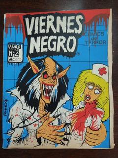 Viernes Negro N° 2 Comic De Terror 1989