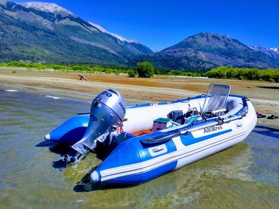 Bote Gomón Desarmable Albatros 4.00 M. 0 Km Año 2020 Quilmes