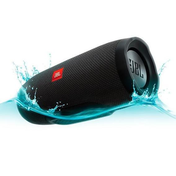 Caixa De Som Portátil Jbl Charge 3 Bluetooth Speaker