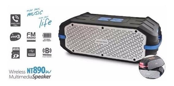 Caixa Som Speaker Bluetooth/fm/sd/usb C/bateria Recarregável