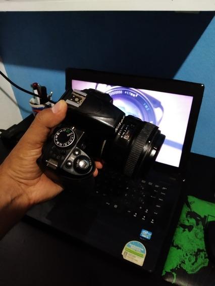 Camera Nikon D3100 Com Lente 50mm F1.8