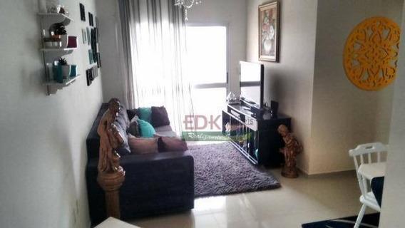 Apartamento Com 2 Dormitórios Para Alugar, 78 M² Por R$ 1.200/mês - Vila Jaboticabeira - Taubaté/sp - Ap3381