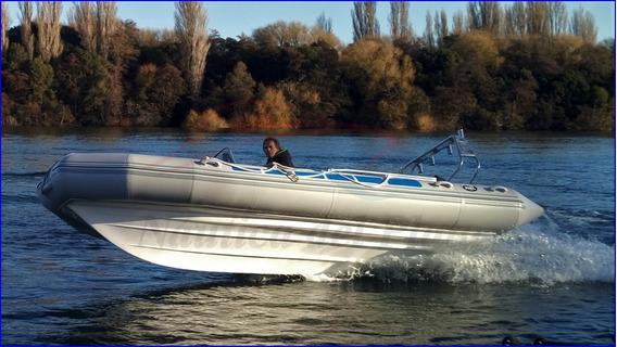 Semirrigido 560 V Profunda Con Motor 115 Hp Ecologico Nuevo